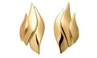 The Flammes II earrings by Baptiste Monvoisin