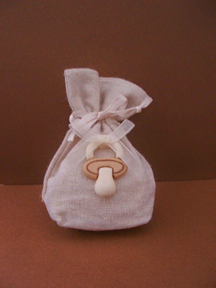 Il meraviglioso mondo del Fimo... e altro ancora!: Bomboniere nascita con decoro in Fimo