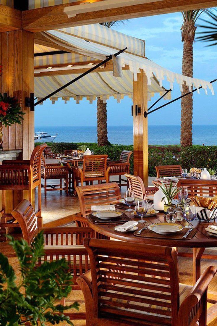 Al fresco – all day, everyday.  Four Seasons Resort Sharm EL Sheikh (Egypt) - Jetsetter