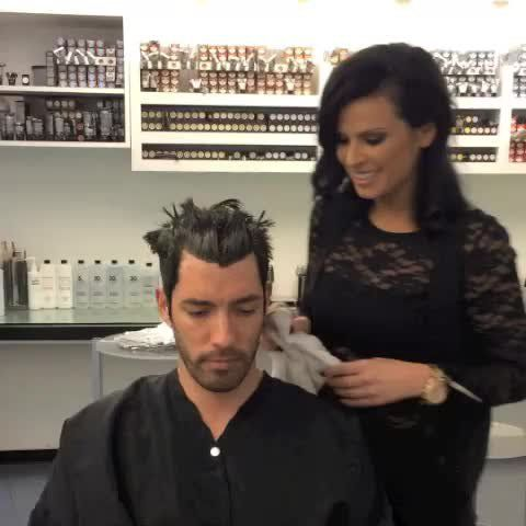 Pin for Later: The Property Brothers Video Clips You Won't See on HGTV The One at the Salon