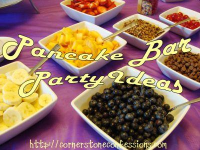 Pancake Bar Ideas