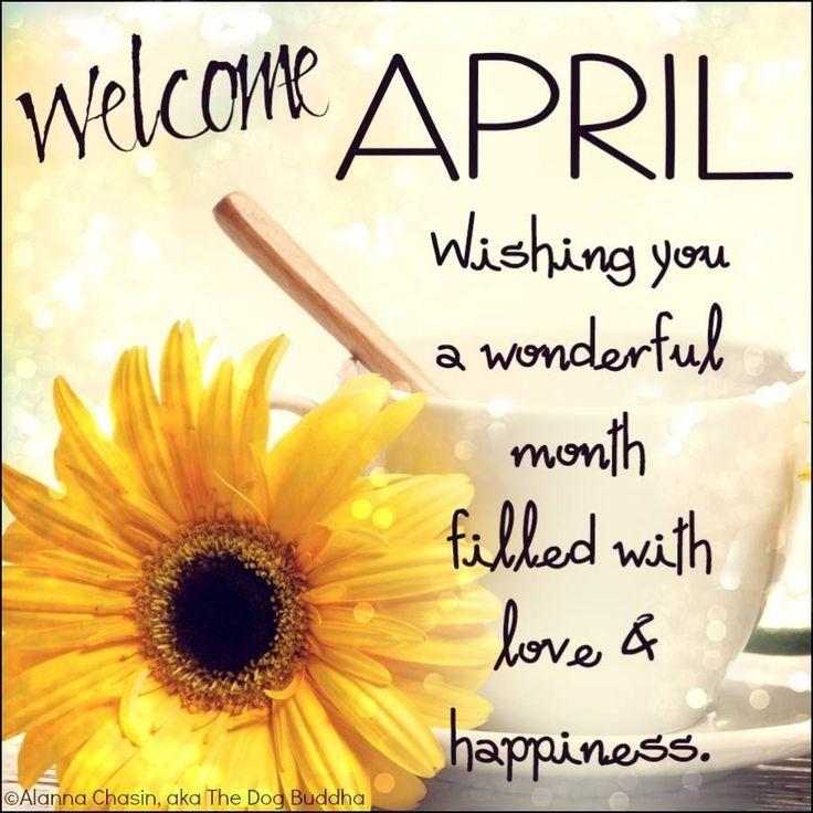 April Calendar Quotes : Best april images on pinterest