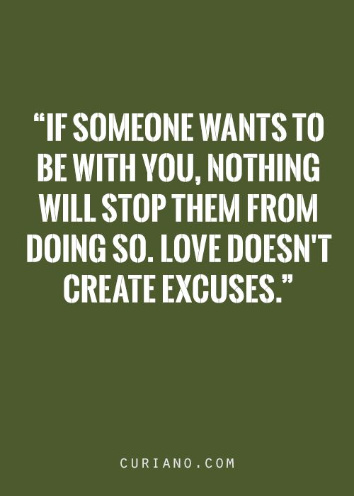 25+ best Excuses Quote...