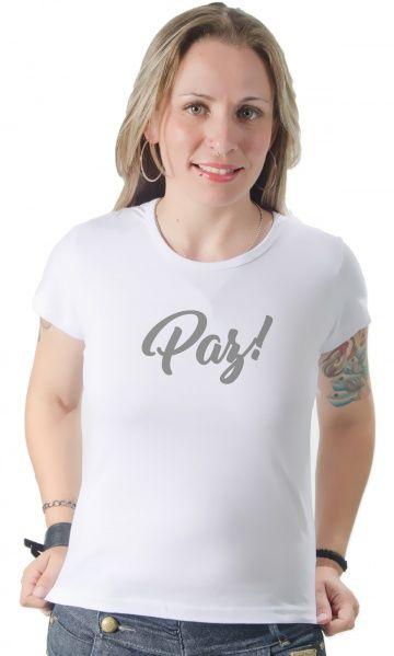 Camiseta - Paz! - camisetas legais | camisetaseradigital