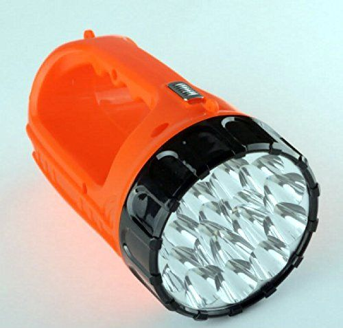 Rechargeable LED Flashlight Lantern Plug In Emergency Flash Light Camping Work PO455K5U 7RKB23067 -- Read more at the image link.