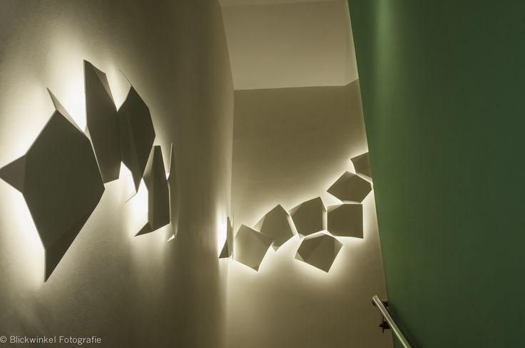 ein treppenhaus mit licht gestalten anders denken anders beleuchten treppenhaus pinterest - Bilder Treppenhaus Gestalten