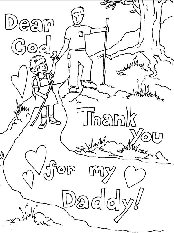 43 best Father's Day Coloring Pages, Cards to Color, and