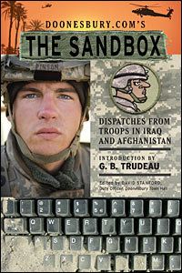 Trudeau Compiles Dispatches from 'The Sandbox' : NPR
