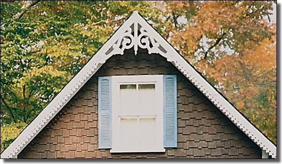 Peaks Choice 3 Gable Wings And Running Trim Garden