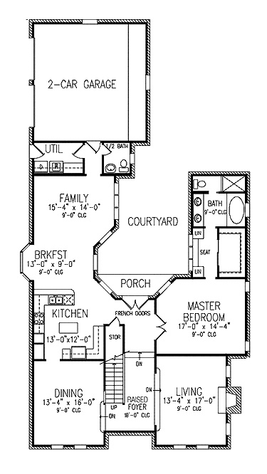 35 best images about floor plan on pinterest house plans for Apartment plans with courtyard