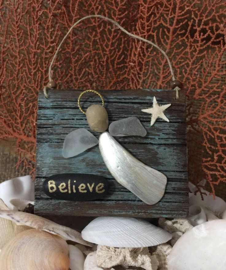 A personal favorite from my Etsy shop https://www.etsy.com/listing/507620714/angel-on-driftwood-3-x-2-34-inch-made-of