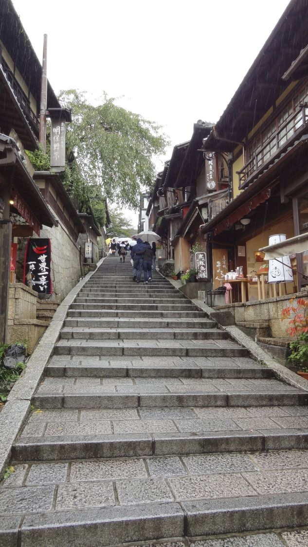 #Japanese #souvenir #gift #Kyoto  Sannenzaka and Ninenzaka shopping streets kyoto oldest souvenir