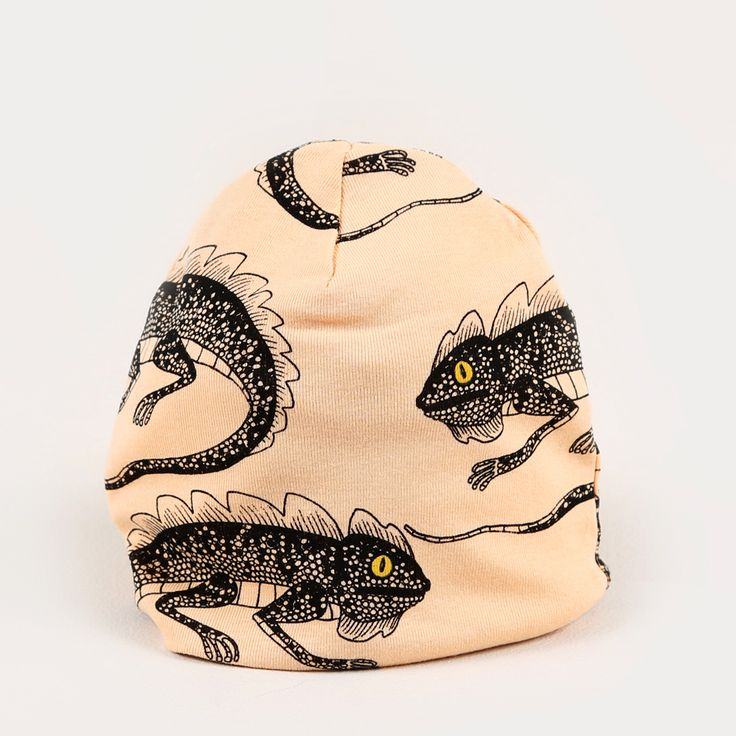 Lizzard Beanie - Pink / Mini Rodini - Söt by Sweden