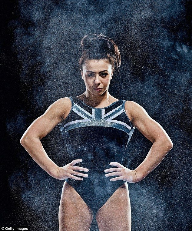 Raising the bar: Olympic gymnast Claudia Fragapane, 18, has been confirmed for Strictly Come Dancing