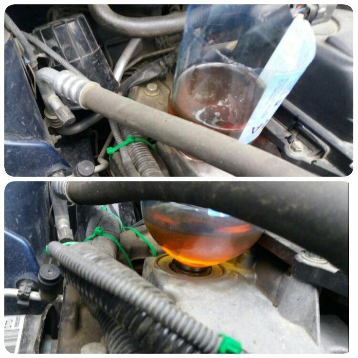 Замена масла в двигателе CR14DE Ниссан Ноут (Nissan Note 2006)