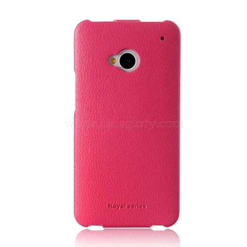 HOCO Duke Series Genuine Leather Flip Case for HTC One M7 - Lineglory.com