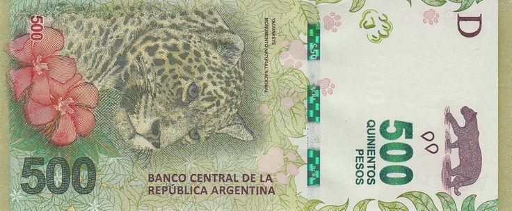 Аргентина Банкнота 500 песо 2016 год