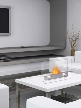 Metropolitan Tabletop Fireplace from Fireplaces, Heaters, Saunas & More on Gilt