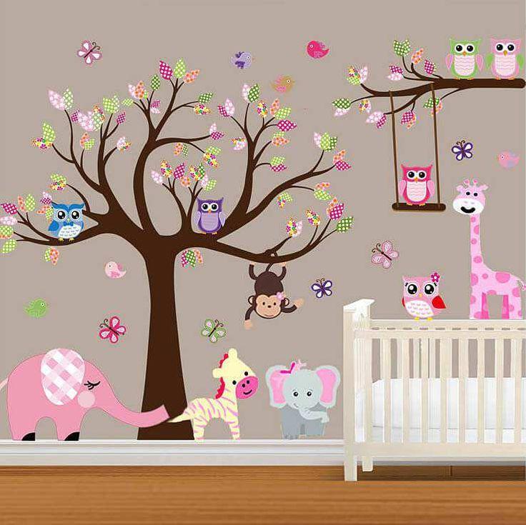 33 best Nursery images on Pinterest | Custom wall stickers ...