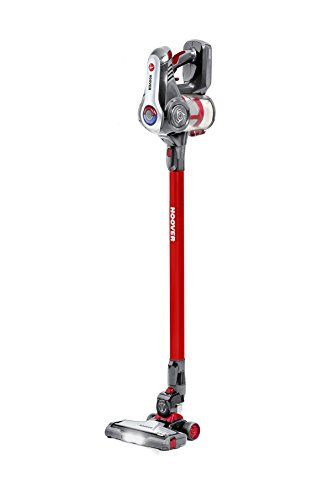 Hoover DS22GR Discovery Lithium 2 in 1 Cordless Stick Vacuum Cleaner, 0.7 Litre, Red #Hoover #DSGR #Discovery #Lithium #Cordless #Stick #Vacuum #Cleaner, #Litre,