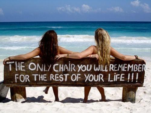 Beach Chairs, Friends, Benches, The Ocean, At The Beach, Summer, Memories, Places, Beach Life