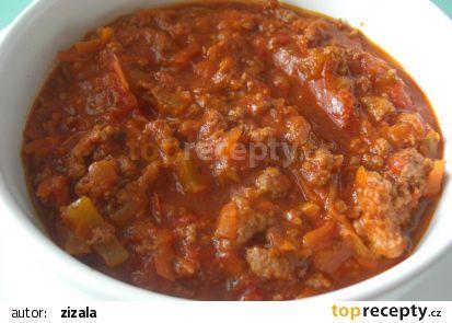 Boloňská omáčka (ragú alla bolognese) recept - TopRecepty.cz