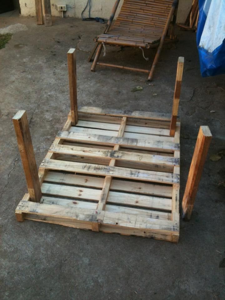 Garden pallet table | 1001 Pallets