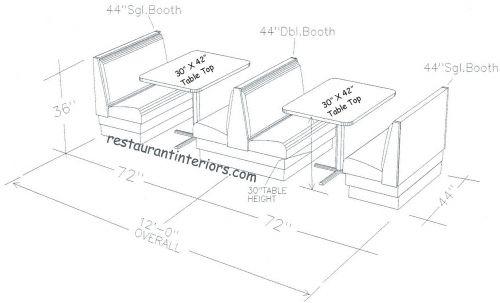 Banquette Seating For Sale | restaurantinteriors.com » Restaurant Seating