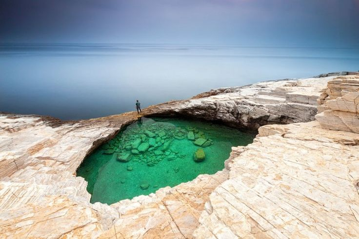 Natual pools of the world