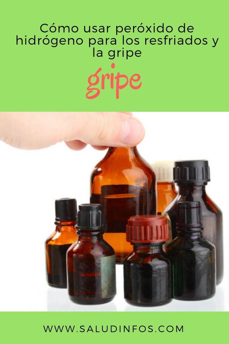 Cómo Usar Peróxido De Hidrógeno Para Los Resfriados Y La Gripe Hidrógeno Resfriados Gripe Pepper Grinder