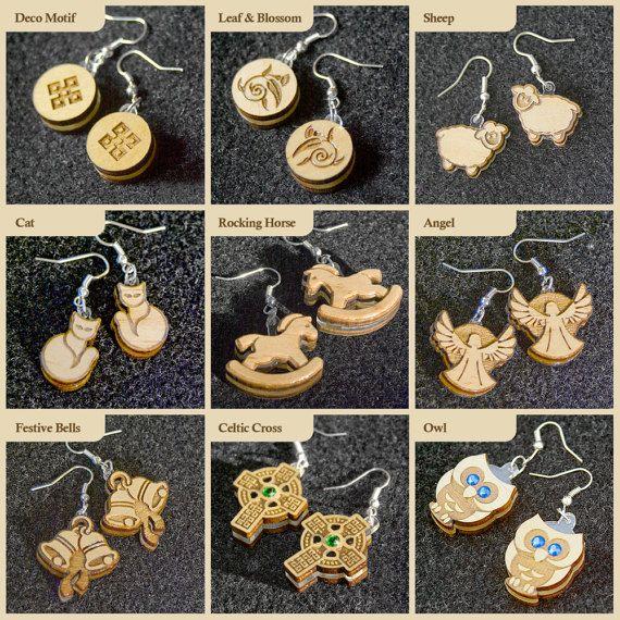 Timber Earrings