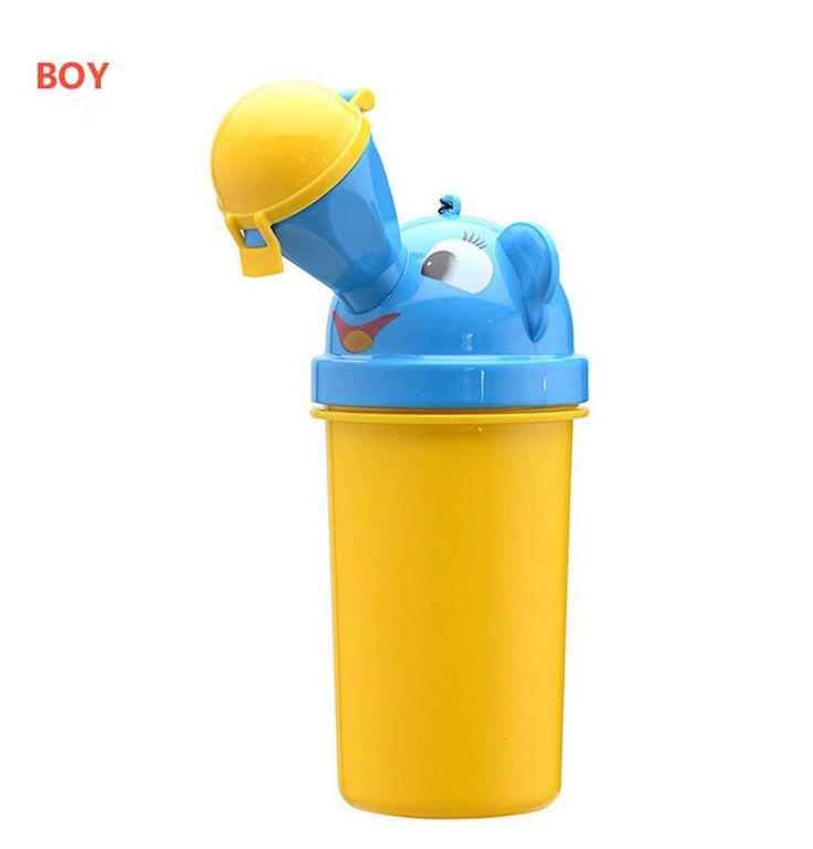 Baby Portable Potty Children kids tTravel Potty Car Portable Urinal Leak-Proof Urinal Toilet Bays Girls Cartoon Urinals Boy