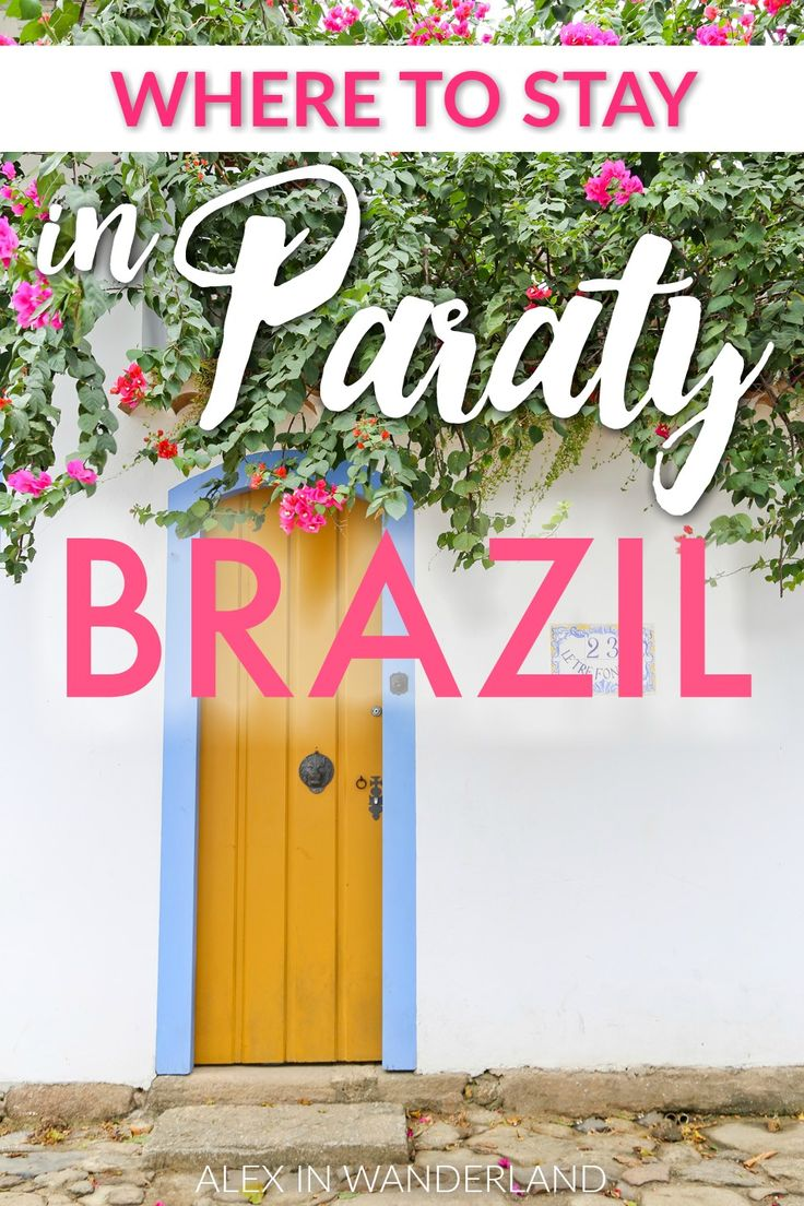 Your complete travel guide for Paraty, Brazil!  Where to stay, eat and play in this gorgeous colonial town.