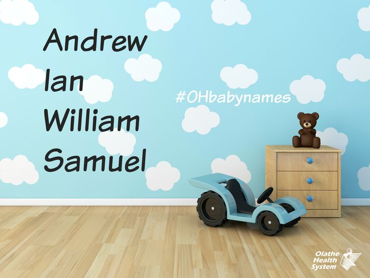 Top baby boy names in April at The Birth Place #OHbaby #OHbabynames