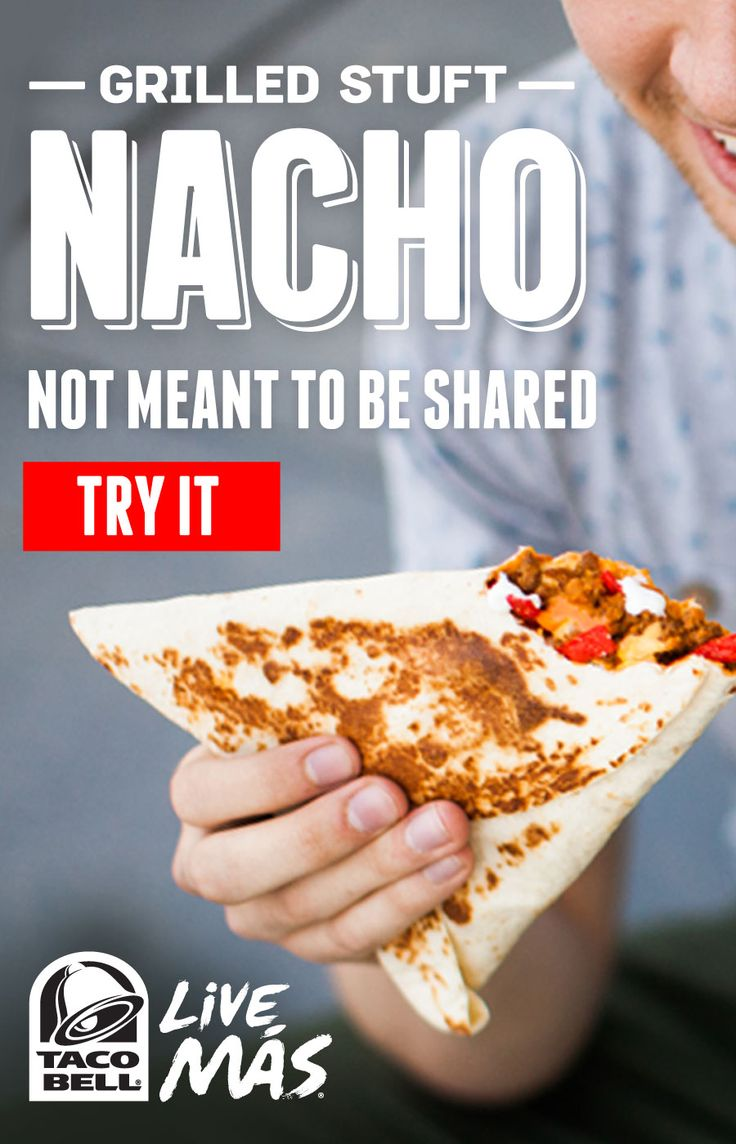 Grilled Stuft Nacho - we each have to buy our own, apparently.