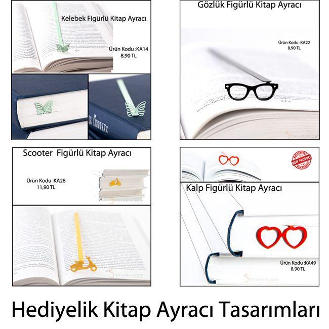 hediyelik kitap ayracı tasarımları ve fiyatları