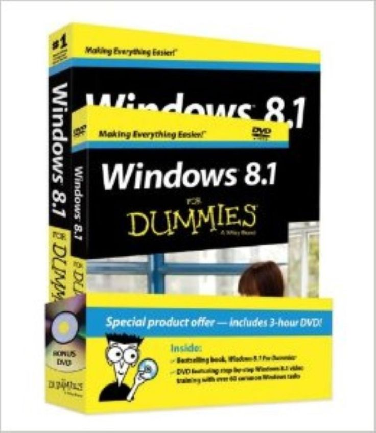 Windows 8.1 For Dummies Book + DVD Bundle by Andy Rathbone