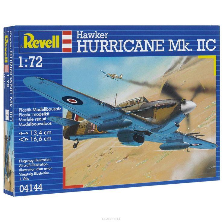 Сборная модель Revell Военный самолет Hawker Hurricane Mk. Iic