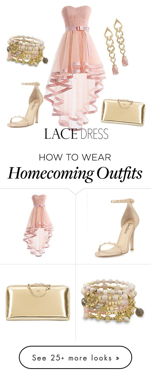"""Lace dress"" by sunshinegirl-elm on Polyvore featuring мода, Neiman Marcus и BillyTheTree"