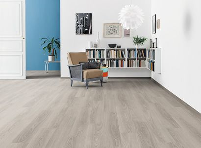 HARO Suelo laminado TRITTY 100 1-lama Roble gris claro* authentic
