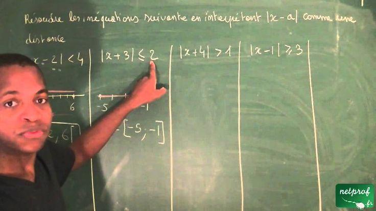 043 / Nombres, ordre dans R / Inéquation et valeur absolue