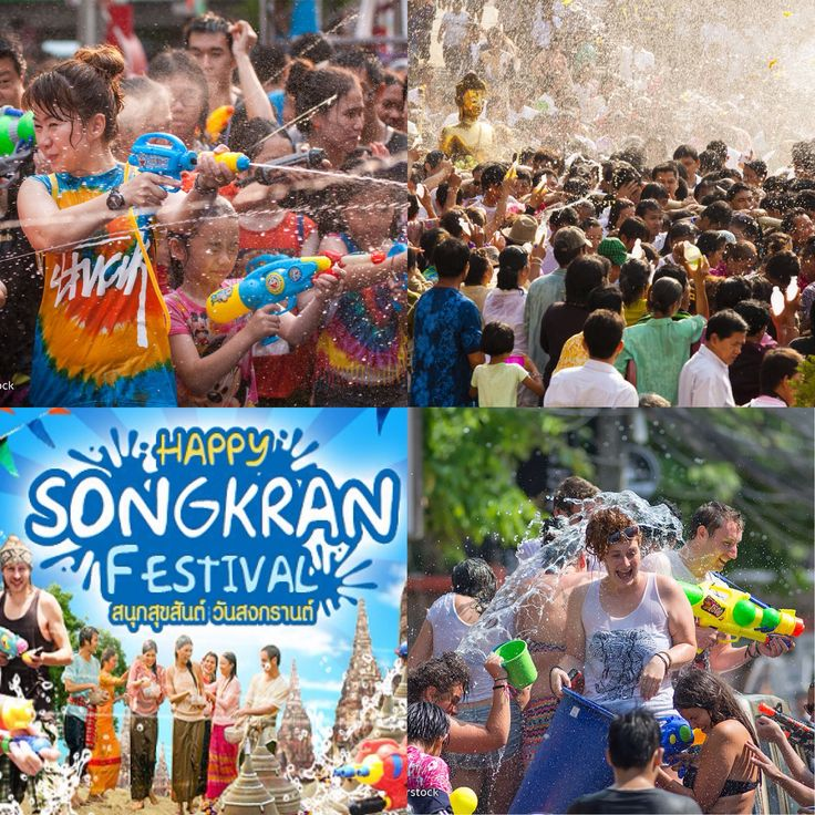 11. April - don't forget on 13. APRIL #SONGKRAN #FESTIVAL (Thai New Year) on Koh Samui. Get out there, have fun and get wet  Our Office will be closed on that day we are back for you on 14. April