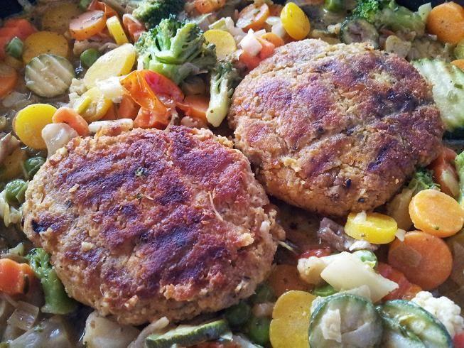 Burger-Steak (sans gluten, ni soja)