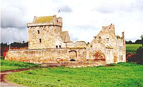 Glenrothes - Balgonie Castle was visited by Rob Roy McGregor and is now the home to many weddings - and to the owner, The Laird of Balgonie © Ian Sloan