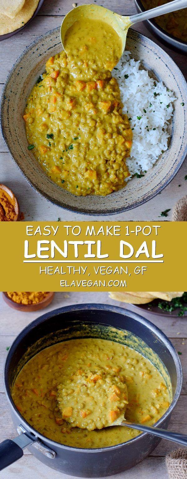 Linsen Dal (einfaches Rezept) – A Little Bit Vegan