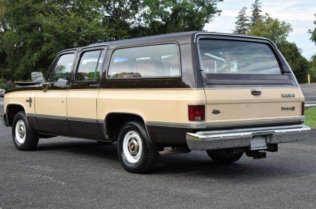 1985 Chevrolet Suburban Silverado Diesel 6 2l Chevrolet Suburban