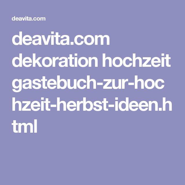 deavita.com dekoration hochzeit gastebuch-zur-hochzeit-herbst-ideen.html