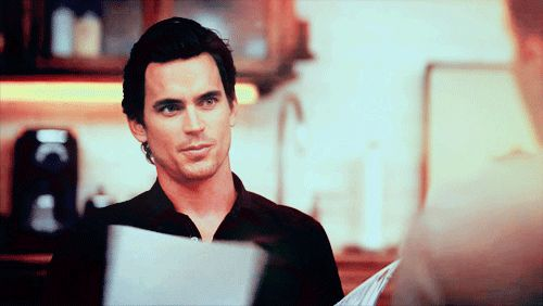 That time he wet his lips. | 39 Times Neal Caffrey Was The Sexiest Man On TV. I love this man!