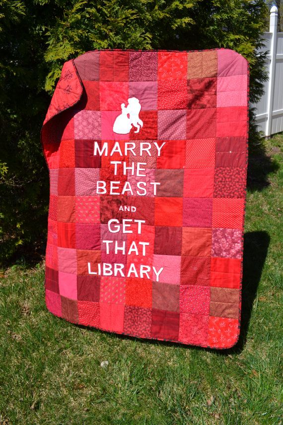 Funky Fantasy Book Lover Fairy Tale by TrueloveQuiltsForYou