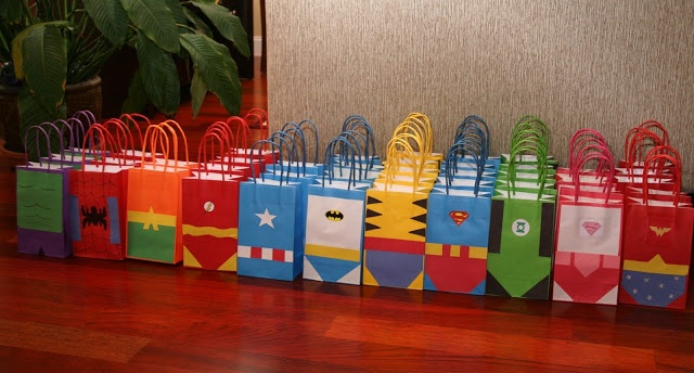 Keeping up with the Laughlins...: Superhero Birthday Decorations